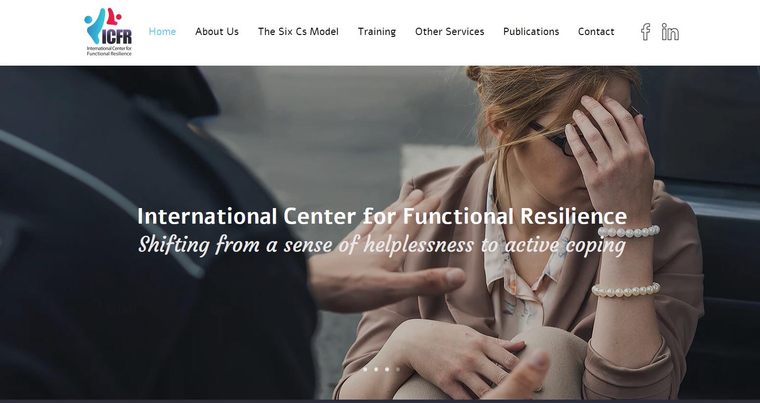 Nouveau site web pour l'ICFR en Israel