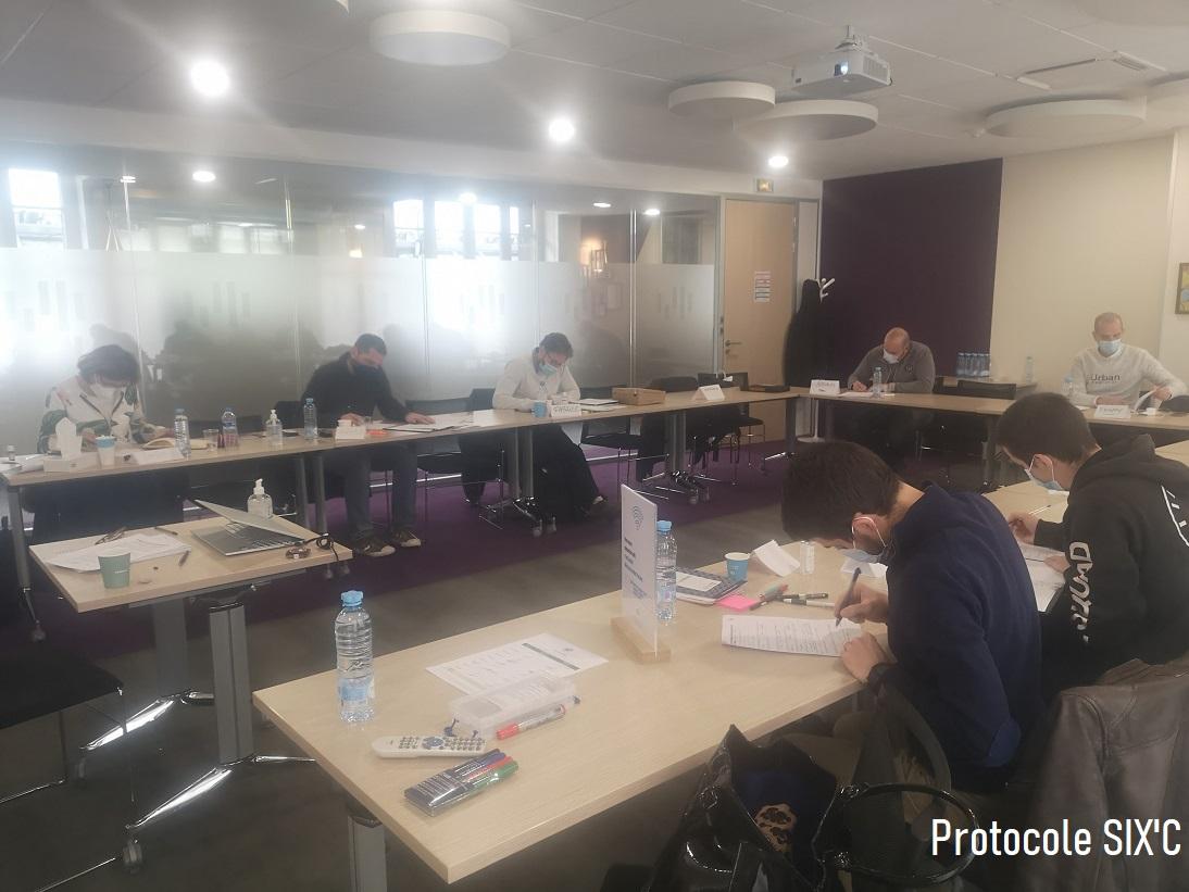 Session de formation P Six'c du 11 et 12 Mars 2021